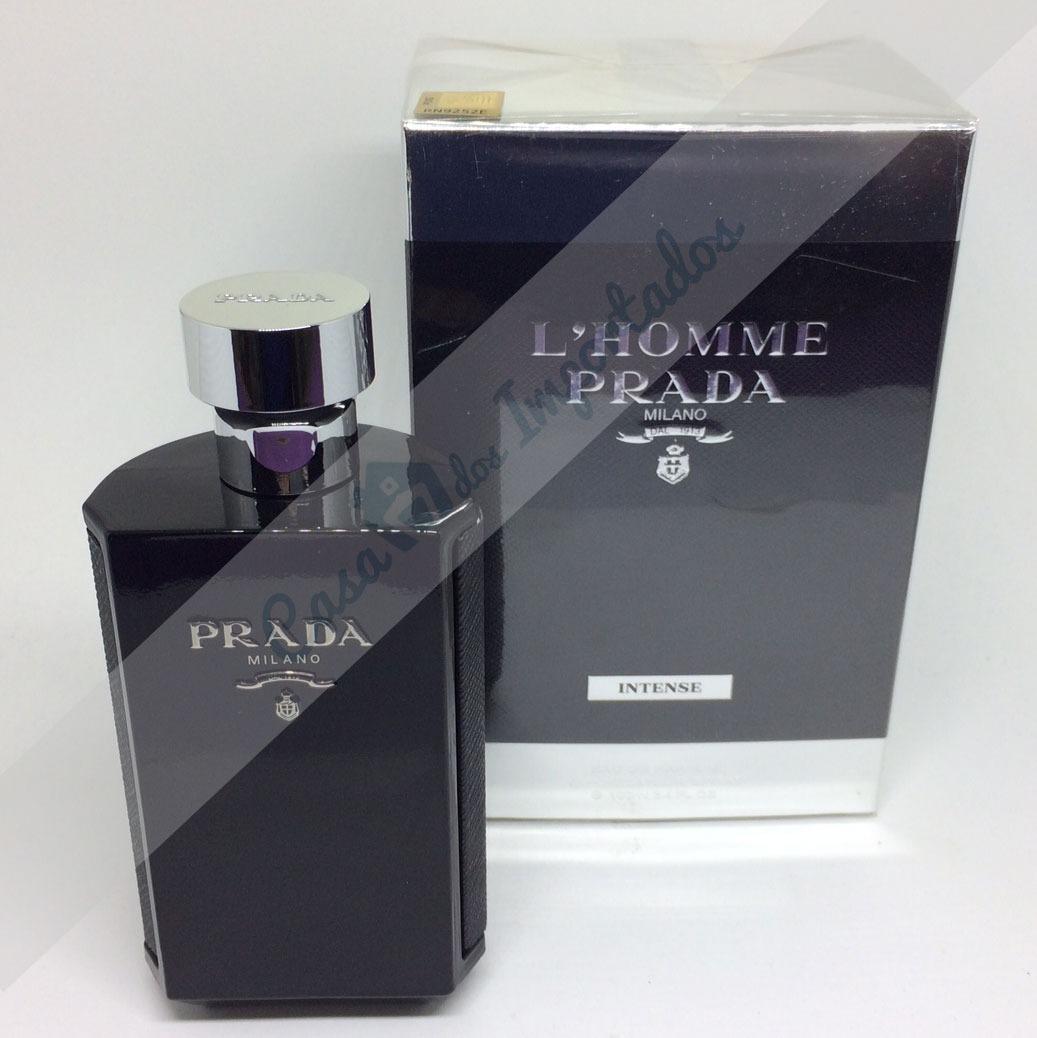 24aefb829a722 prada l homme intense eau de parfum ( edp ) 100ml masculino. Carregando  zoom.