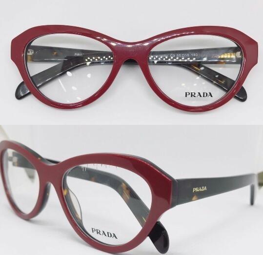 Prada Oculos De Grau Modelo Novo Vermelho Com Onça -pr107 - R  135 ... e837f32d62