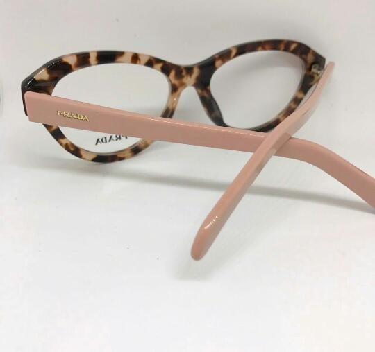 c3087181f2aae Prada Oculos Para Grau Onça E Rosa Modelo Novo -pr104 - R  135