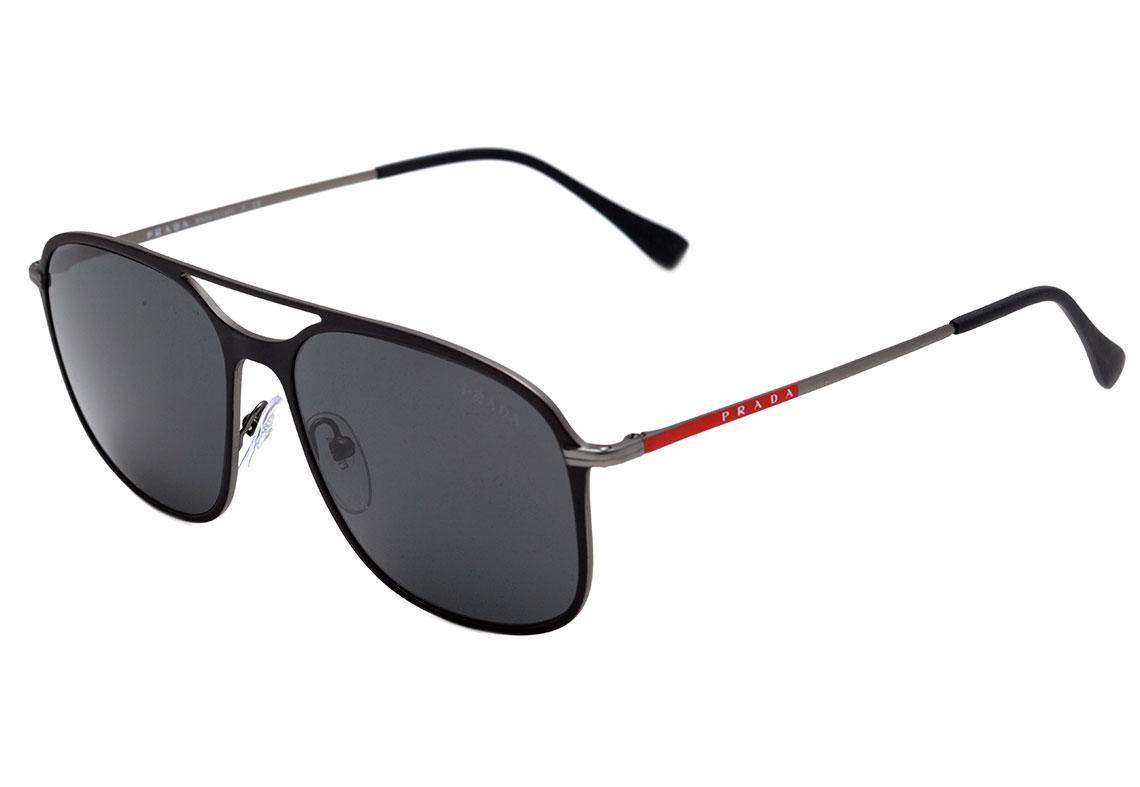 0edd6a351 Prada Pr 53 Ts - Óculos De Sol Dg0 5s0 Preto Fosco/ Preto - R$ 872 ...