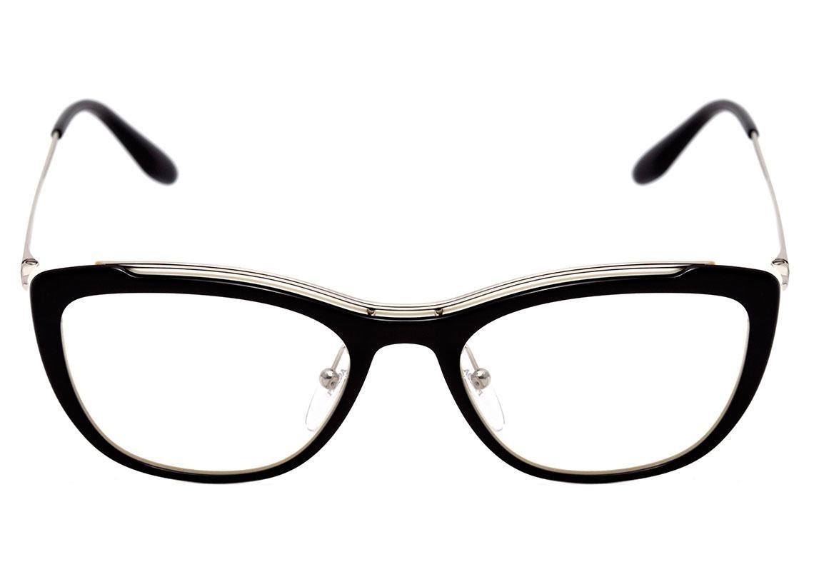 e7cdd45a69086 Prada Pr 04vv - Óculos De Grau - R  1.239,99 em Mercado Livre