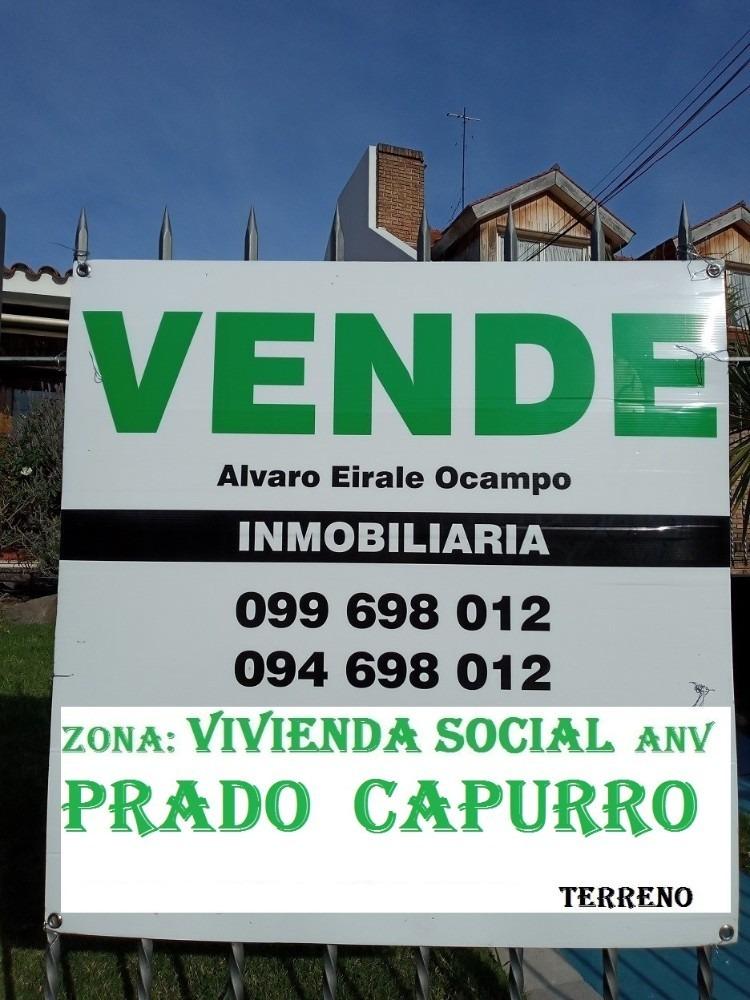 prado: 30.00 x 80.00= 2.400m2 vivienda social