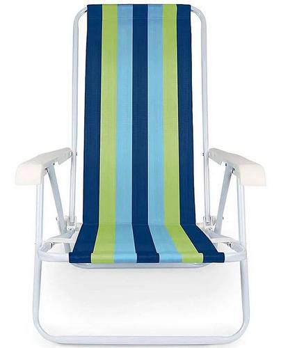 praia aço cadeira