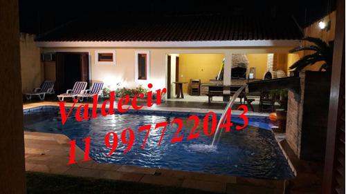 praia, alugo temporada linda casa com 4 suites, piscina, ar
