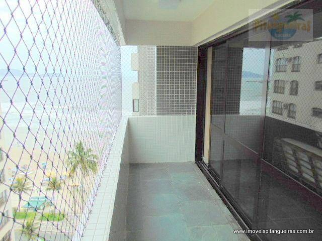 praia das astúrias - excelente apartamento - prédio frente ao mar. - ap3859