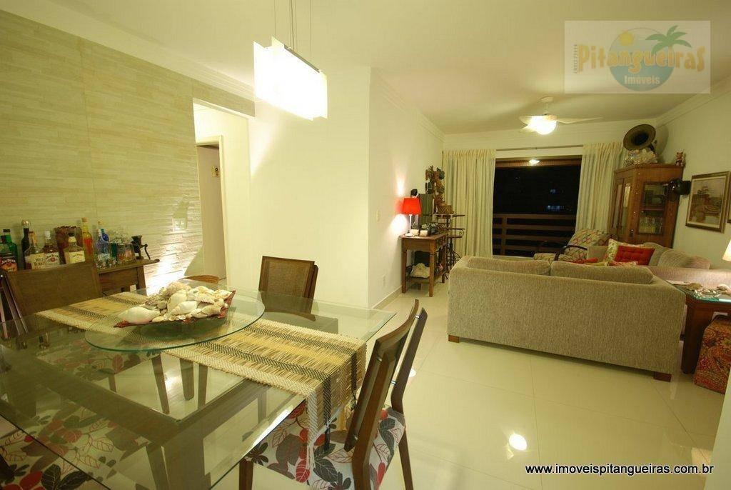 praia das pitangueiras - prédio bem localizado e apartamento com fino acabamento. - ap3755