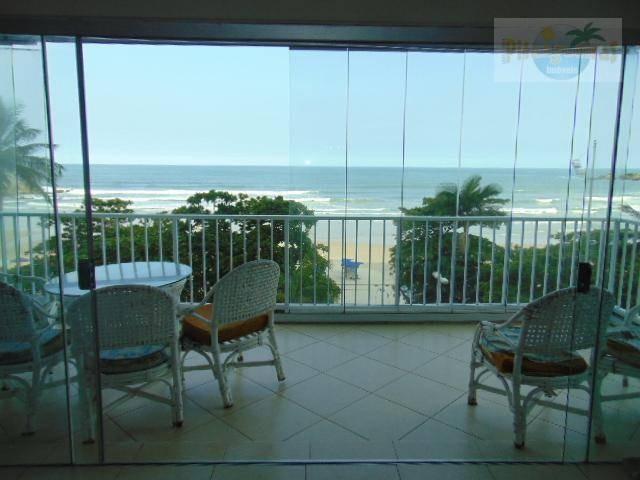 praia de pitangueiras - alto padrão - frente total para o mar - totalmente reformado e finamente decorado - 2 vagas. - ap3328