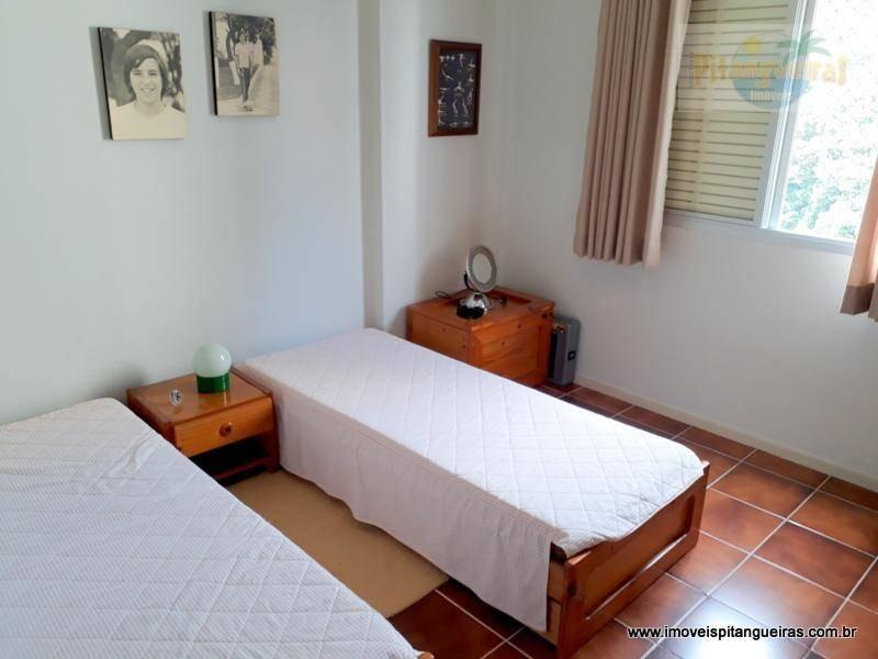 praia de pitangueiras -  duas quadras da praia - lazer - 2 vagas - 130 m² úteis - ótima varanda. - ap3993