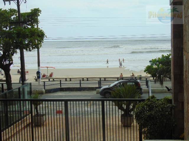 praia de pitangueiras - frente total para o mar, local nobre, garagem demarcada no prédio. - ap3216