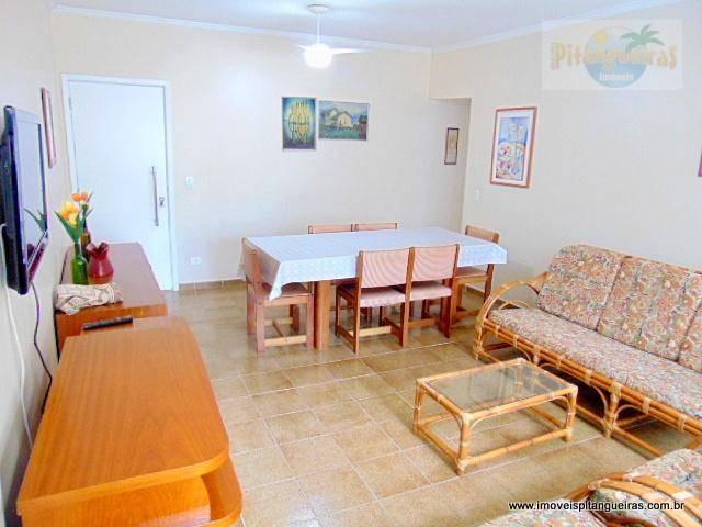 praia de pitangueiras - locação anual e venda - próximo ao mar - região nobre - ótimo apartamento - garagem. - ap3961
