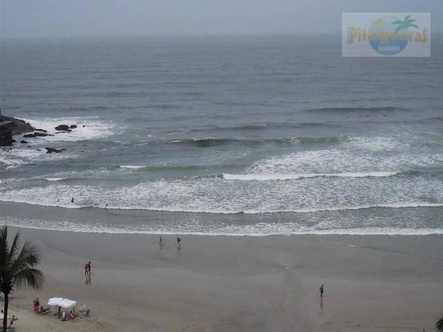 praia de pitangueiras, prédio frente ao mar, sacada com linda vista, reformado, para venda, locação anual e temporada!!! - ap0401