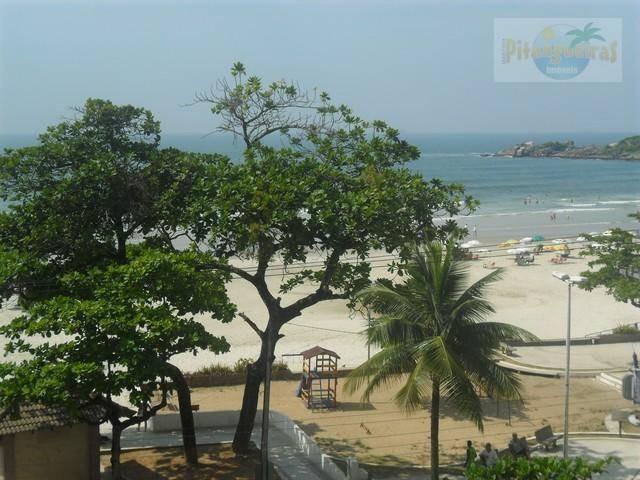 praia de pitangueiras,prédio frente total para o mar,próximo ao shopping,160 m² úteis,garagem,vista ao mar,lindo apto reformado! - ap1172