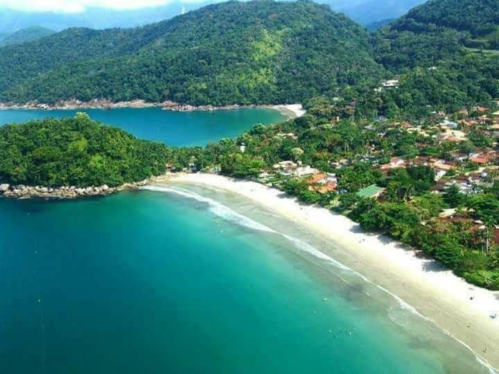 praia do lazaro/praia domingas dias/sununga, 370 mts  mar ,