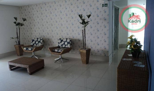 praia grande, aviação, apartamento novo, 3 dormitórios (1 suíte). - ap1353