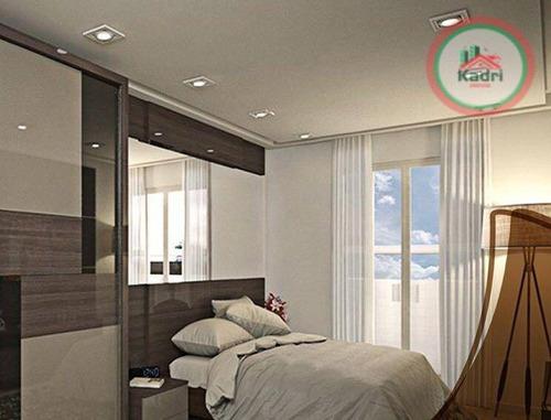 praia grande, canto do forte, lançamento, apartamento 1 dormitório. - ap1210