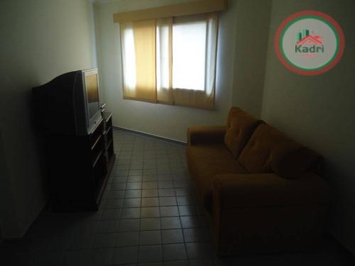 praia grande, guilhermina, apartamento 1 dormitório. - ap0906