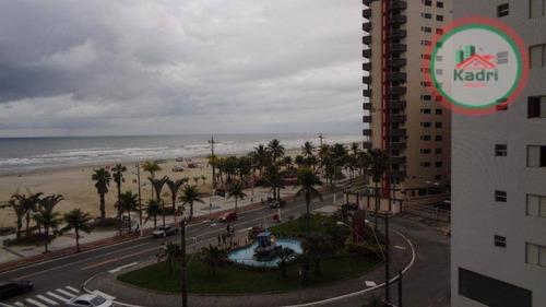 praia grande, guilhermina, apartamento 2 dormitórios sendo 1 suíte. - ap0878