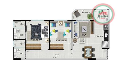 praia grande, guilhermina, empreendimento, futuro lançamento, apartamento 2 dormitórios (1 suíte). - ap0974