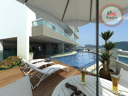 praia grande, guilhermina, empreendimento, futuro lançamento, apartamento 3 dormitórios (3 suítes). - ap1089