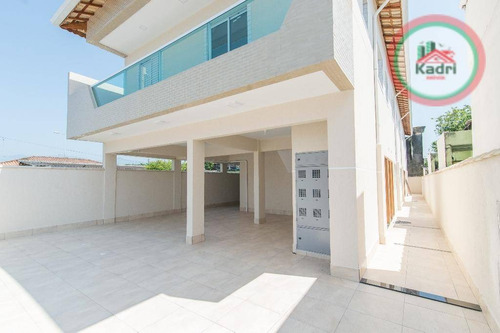 praia grande, jardim quietude, casa em condomínio, sobreposta alta, 2 dormitórios. - ca0311