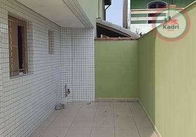praia grande, jardim quietude, novidade, casa em condomínio fechado, 2 dormitórios. - ca0297