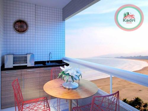 praia grande, vila tupi, empreendimento, futuro lançamento, 2 dormitórios com demi-suíte. - ap1095