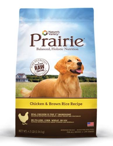 prairie pollo arroz perros todas las razas y etapas 4.5lb