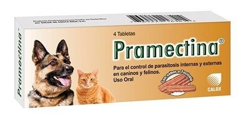 pramectina desparasitante interno y externo perros y gatos