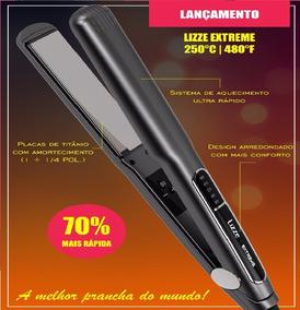 a88ed90fd Prancha Titanium 450 Lizz Preto Inox - Chapinhas no Mercado Livre Brasil