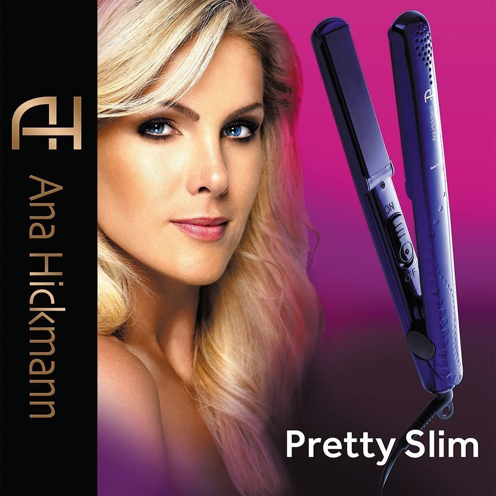 Prancha Ana Hickman Pretty Slim 200 Graus Frete Grátis!!!!! - R  135 ... b45710d9e9