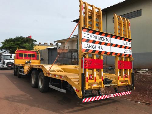 prancha caminhao truck bitruck  fixa- expansivel br carretas