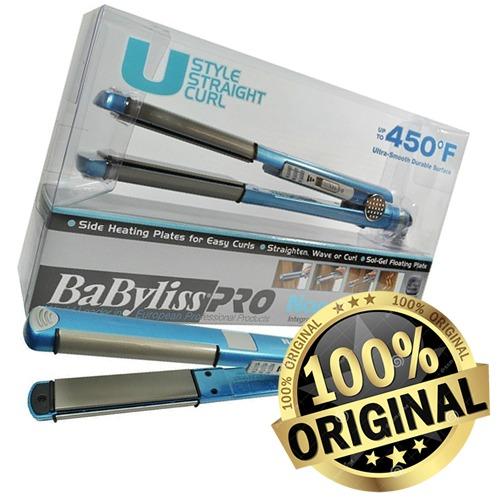 13a543168 Prancha Chapinha Babyliss Nano Titanium 25mm U Styler 220v - R$ 149 ...