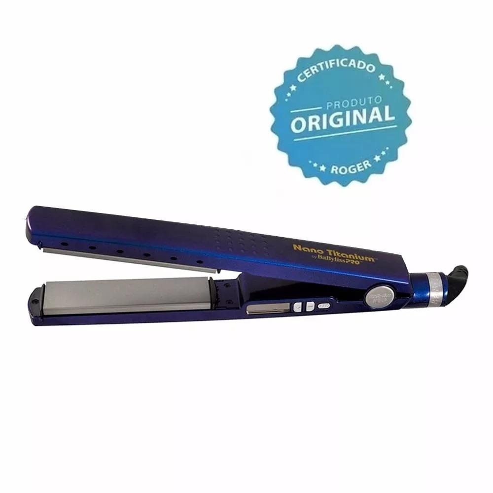 01039419c Prancha Chapinha Babyliss Pro Nano Titanium 450f!!! - R$ 380,00 em ...