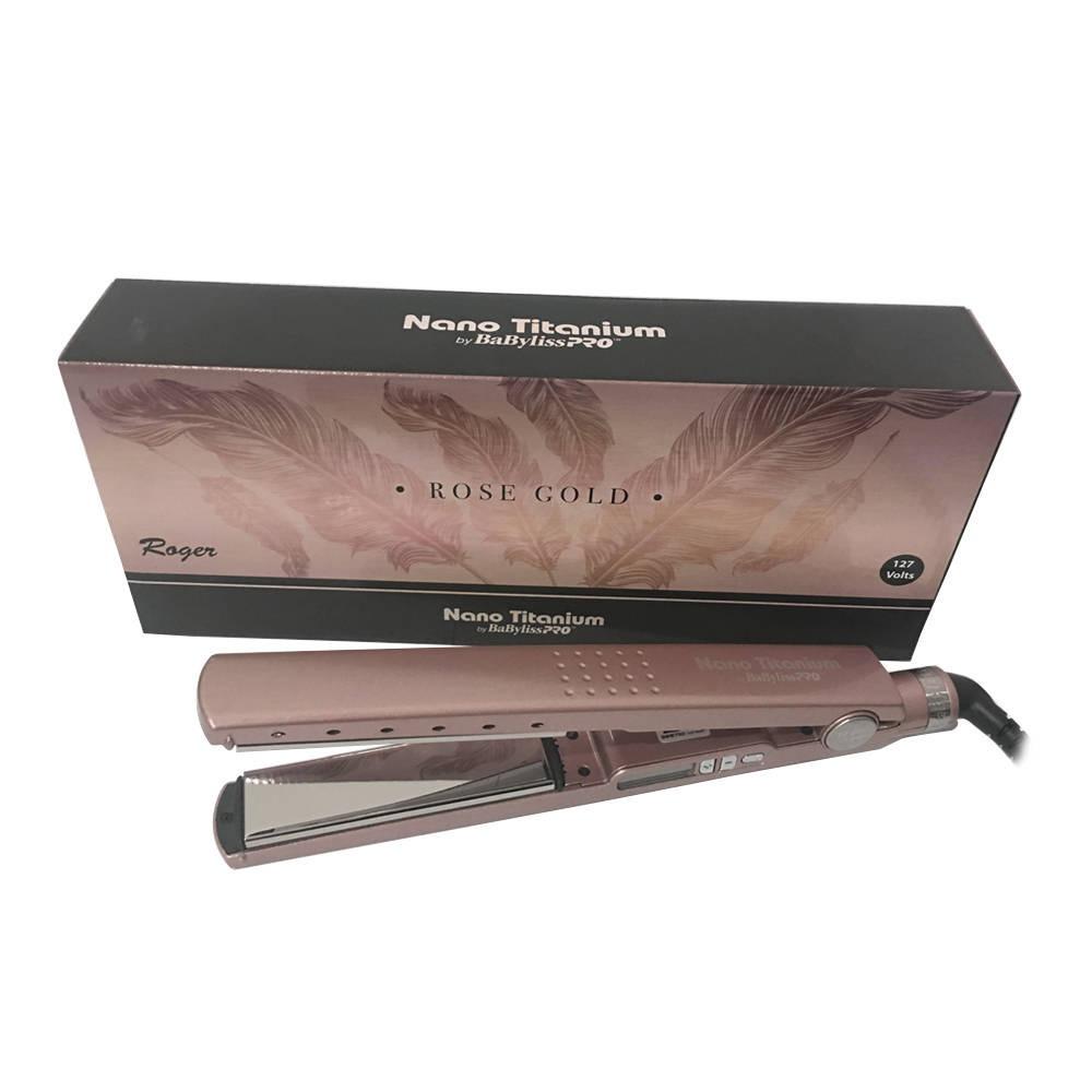 5ff27fafd Prancha Chapinha Babyliss Pro Nano Titanium Profissional - R$ 380,00 ...
