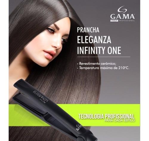 prancha chapinha gama eleganza infinity one 220c bivolt top