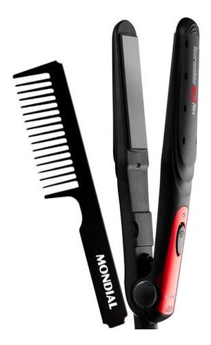 prancha de cabelo mondial tourmaline ion plus p-11 bivolt