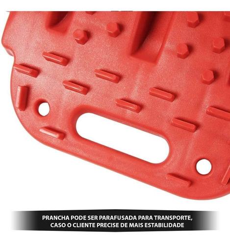 prancha de desatolamento 4,5t em plástico e náilon unitário