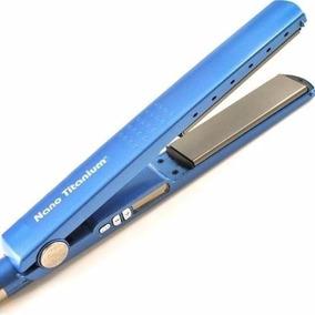 1e8b617a0 Prancha Nano Titanium Azul Baby Lizze, 230 Graus A 450 - Chapinhas ...