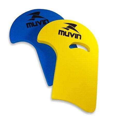 prancha natação - corretiva j - muvin - 44cmx31cm - laranja