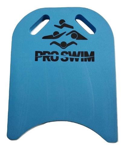 prancha para natação eva tamanho g azul com pegador