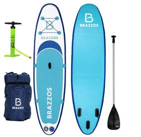 ea7ab922b Stand Up Paddle Inflável Brazzos Modelo Sp Big (sup)prancha - Esportes  Aquáticos no Mercado Livre Brasil