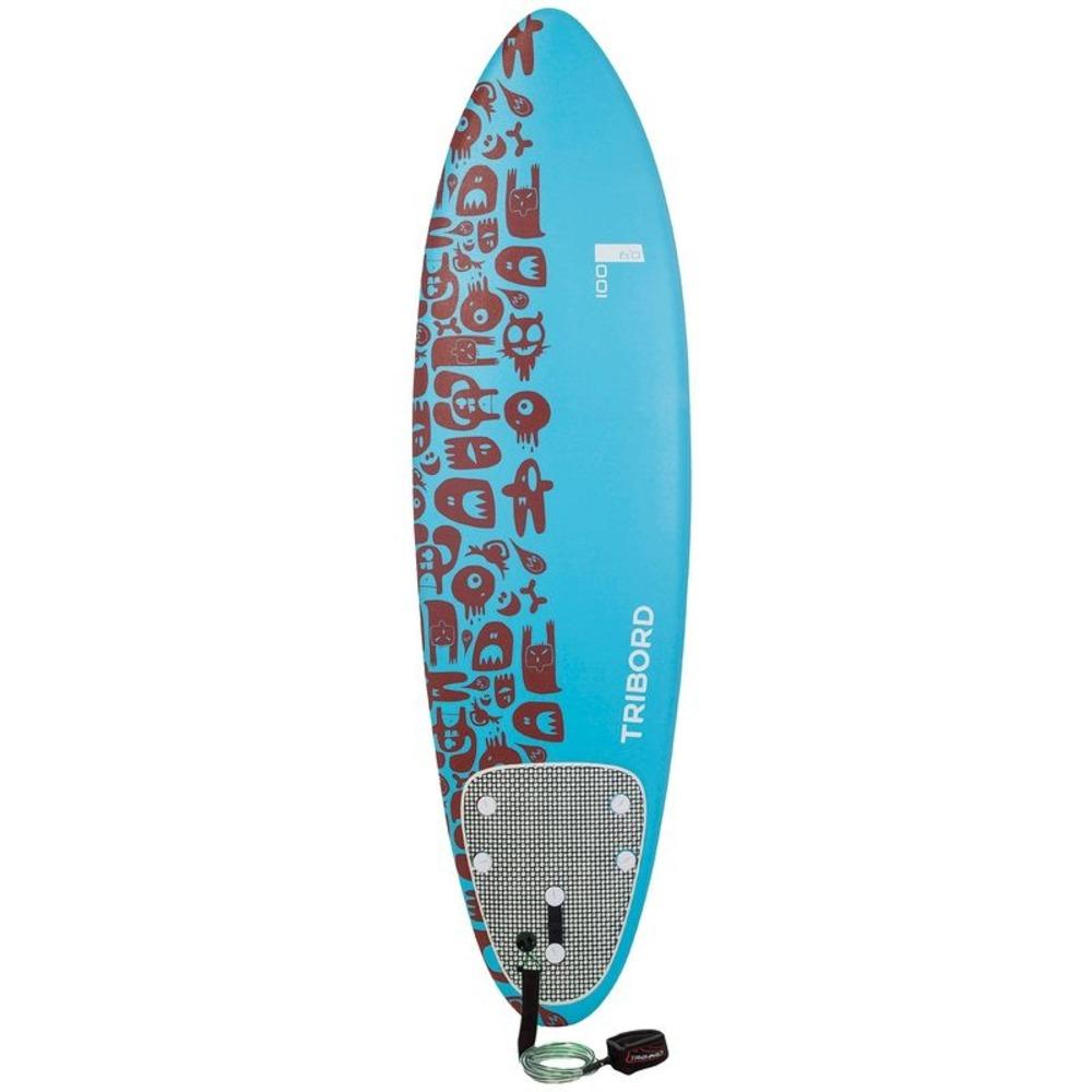 Prancha surf 100 6 leash r 699 99 em mercado livre - Tavole da surf decathlon ...