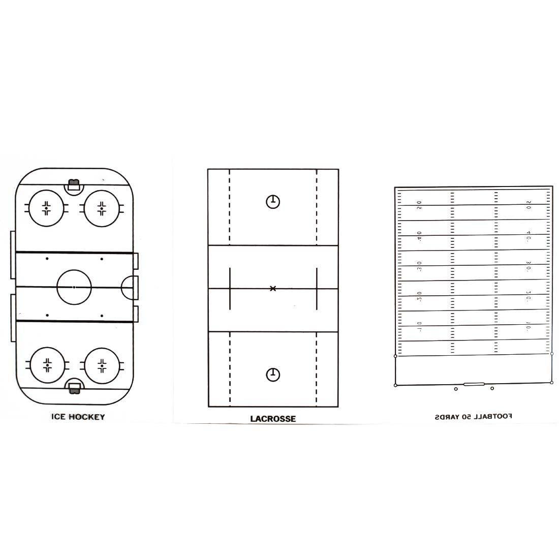 prancheta tática ax esportes 28x19cm 7 modalidades-fa234. Carregando zoom. c25e8125b1976