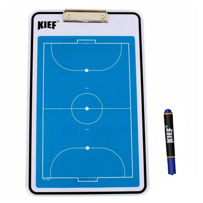 ac672c77a3 Prancheta Tática Kief Dupla Face Futsal - R$ 94,90 em Mercado Livre