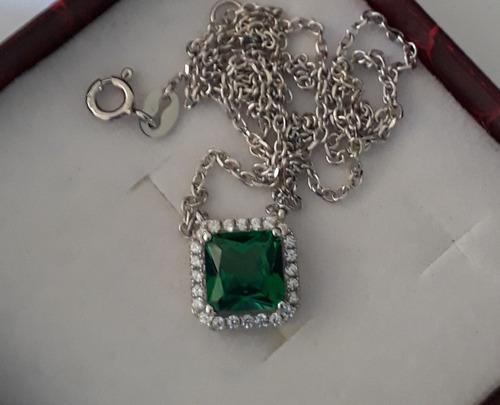prata 925 esmeralda