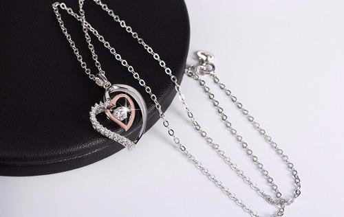prata feminino colar