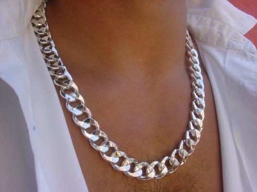 prata jóias corrente