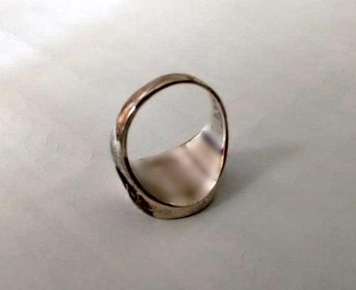 prata maçonaria anel masculino