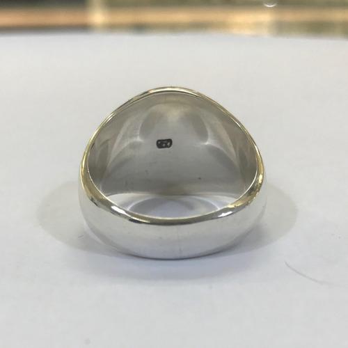 prata masculino anel maçon