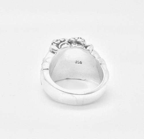prata templario anel